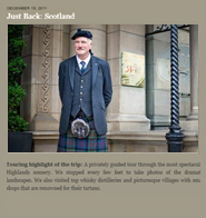 luxury Scotland tours