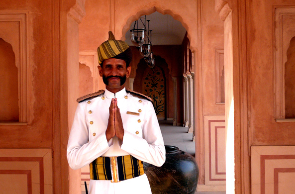 A warm welcome awaits our travelers throughout India