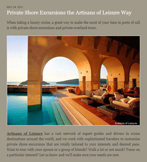 luxury private shore excursions
